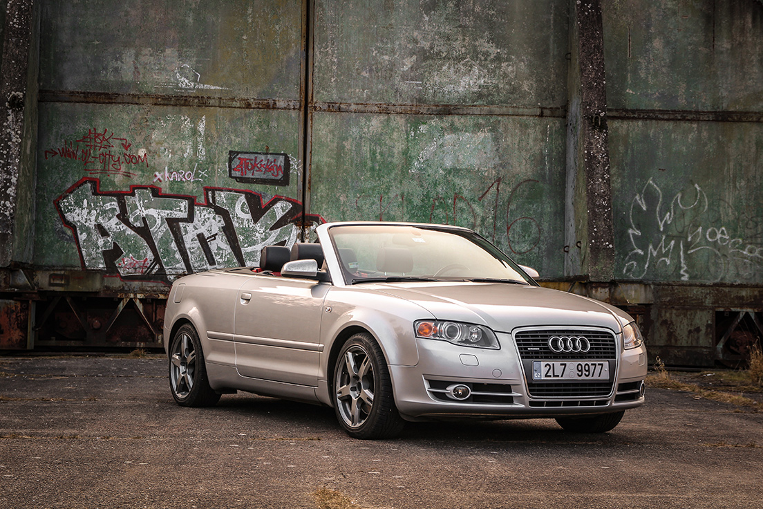 Driving Experience - Audi A4 Cabrio